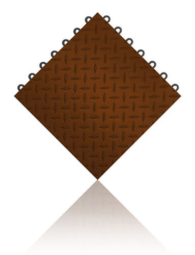 SpeedFloor™ Brickyard Brown
