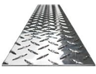Diamond Plate Metal by the Piece