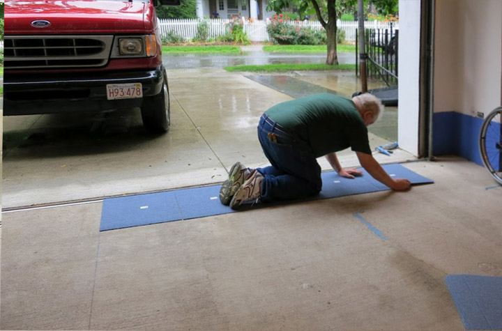 Image Of Style Garage Floor Tiles Review