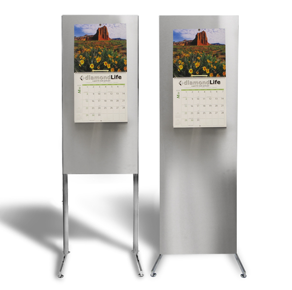 Magnetic Board Freestanding featured in both 2x6 and 2x4 Sizes