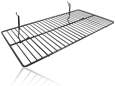 Wire Pegboard Shelf, Small
