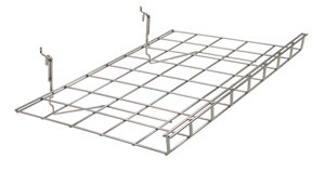 Wire Grid Shelf, with Lip