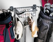 Golf Rack and Basket