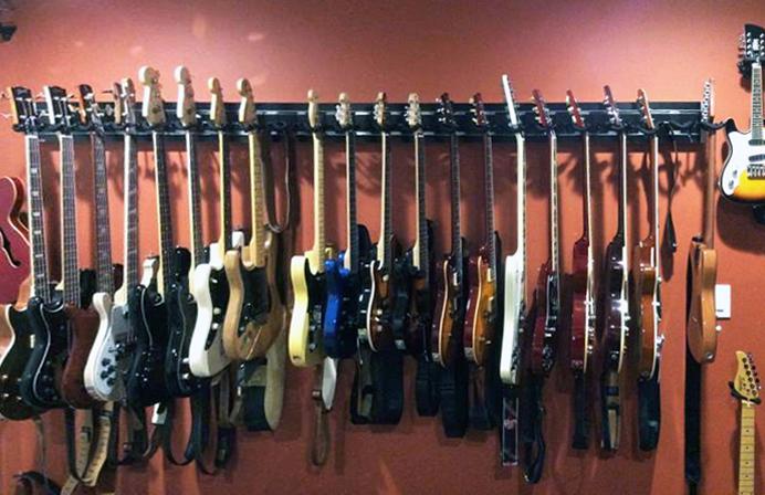diy multiple guitar stand pvc. Black Bedroom Furniture Sets. Home Design Ideas