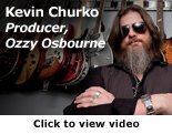 Kevin Churko Video Link on diamondLife's Guitar Hanger