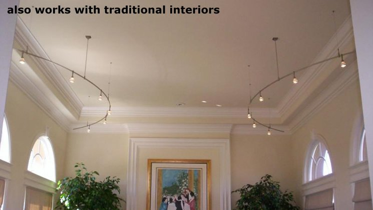 also works for traditional interiors