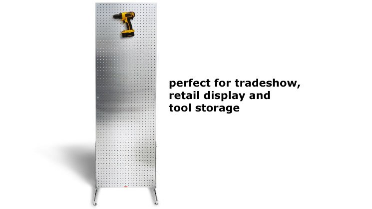 Perfect for Tradeshow, Retail Display and Tool Storage