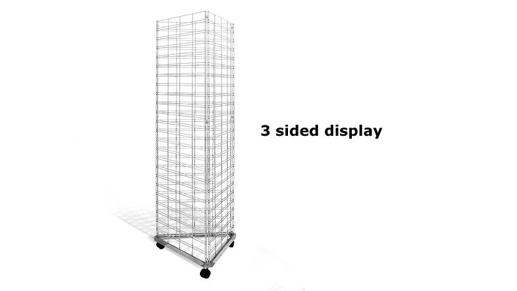 3 Sided Display