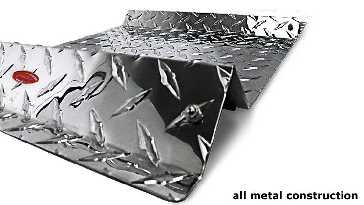all metal construction