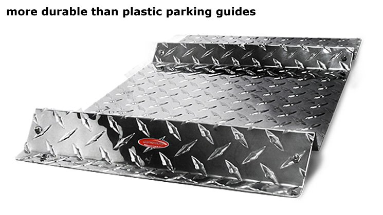 more durable  than plastic parking guides