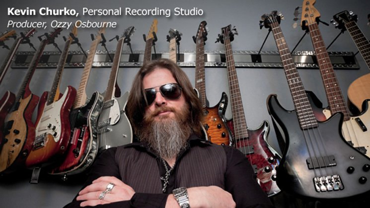 Kevin Churko, Personal Recording Studio. Producer, Ozzy Osbourne