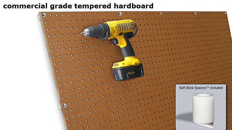 Commercial Grade Tempered Hardboard