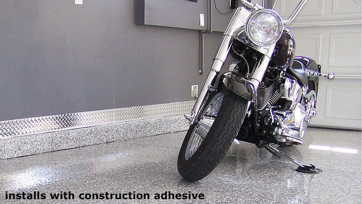 Attach with Construction Adhesive