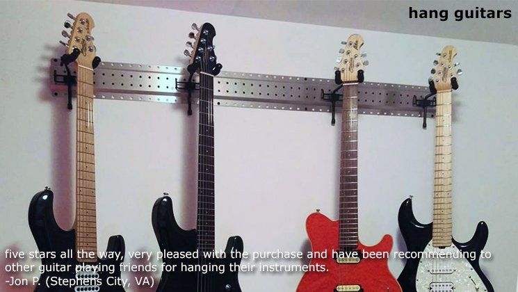 hang guitars