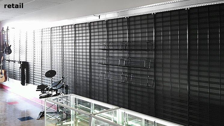 Slatgrid Panels For Display And Organization