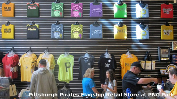 Pittsburgh Pirates Flagship Retail Store at PNC Park