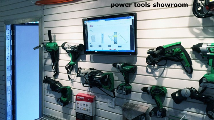 Power Tools Showroom