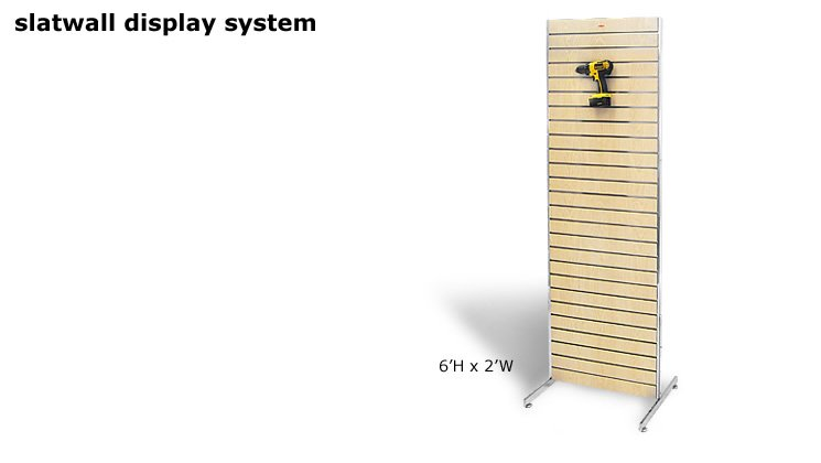 Slatwall Display System