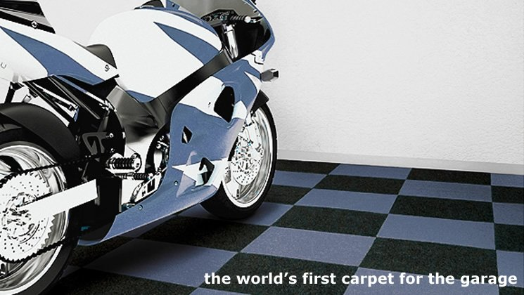 The worlds first carpet for the garage