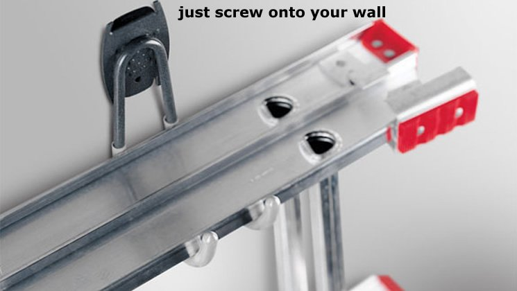 Just Screw onto Your Wall